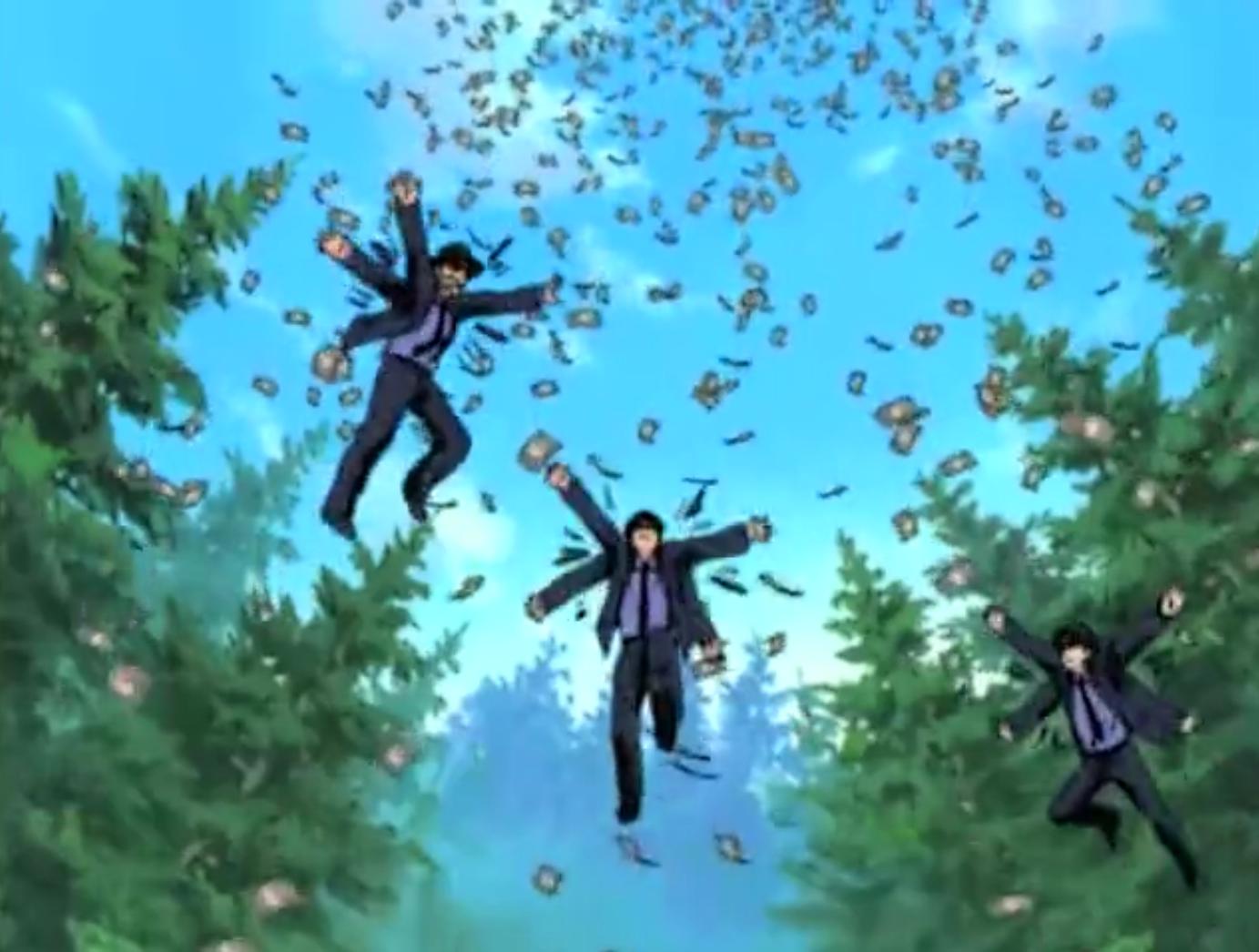 Naruto - Episódio 174: Impossível! Celebração da Arte Ninja: Jutsu do Estilo Dinheiro!