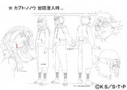 Arte Pierrot - Kabuto e Nonō