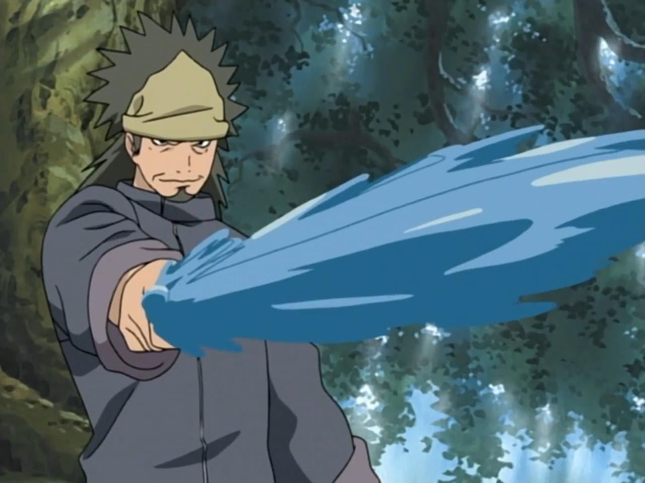 Estilo Takigakure: Lâmina Decapitadora de Água