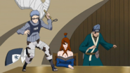 Chōjūrō e Ao ao da Mizukage