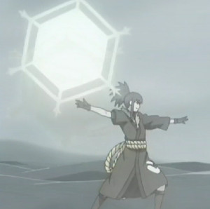 Cristal: Shuriken Hexagonal Gigante