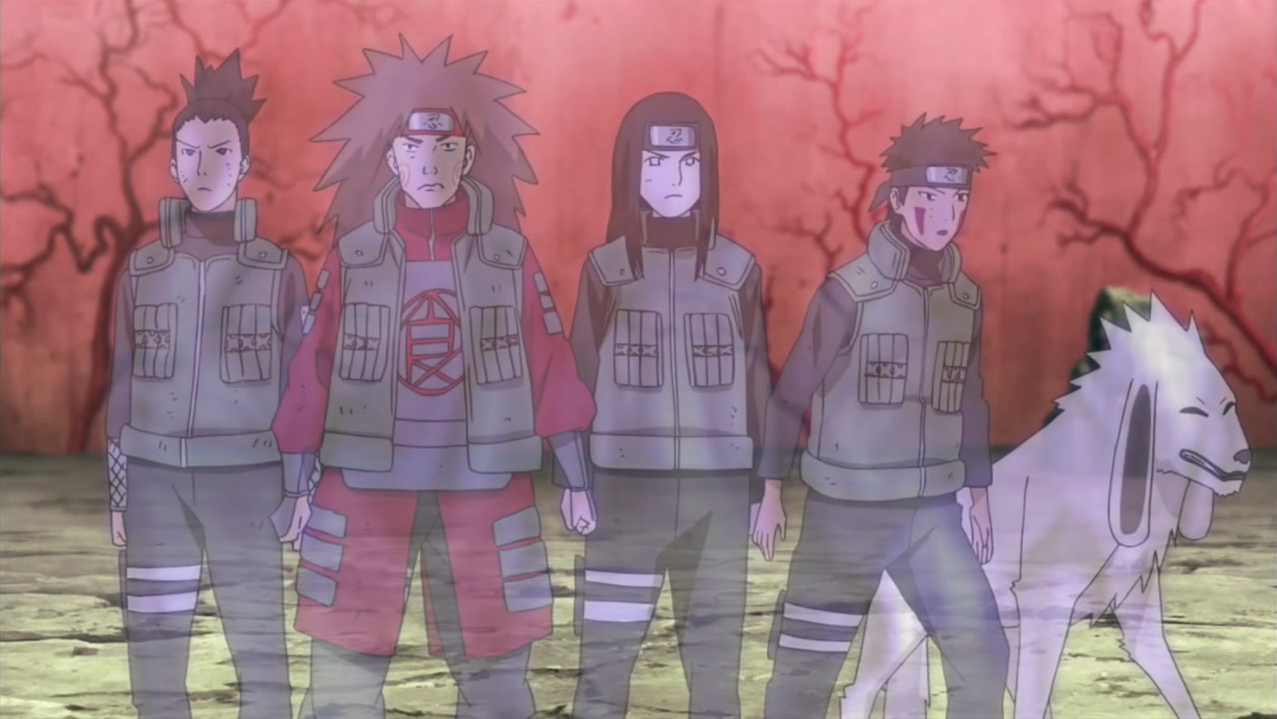 Naruto Shippūden - Episódio 304: O Yomi Tenshin no Jutsu