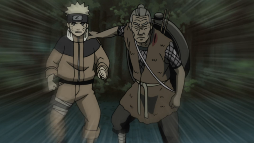 Naruto Shippūden - Episódio 190: Naruto e o Velho Soldado
