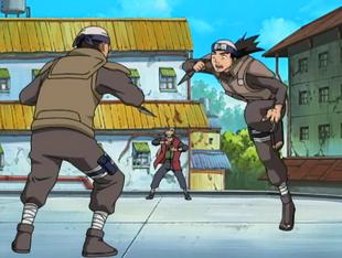 ...permitindo ao Yamanaka controlar o corpo do alvo.