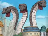 Tre Serpenti Giganti