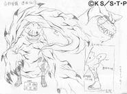 Arte Pierrot - Gaara (Transformação³)