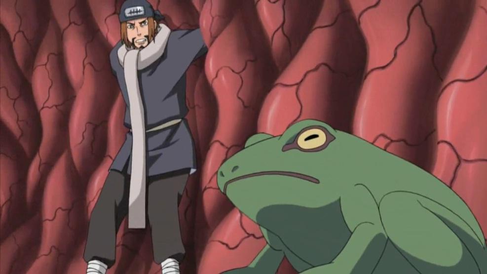 Arte Ninja: Transformación Rana