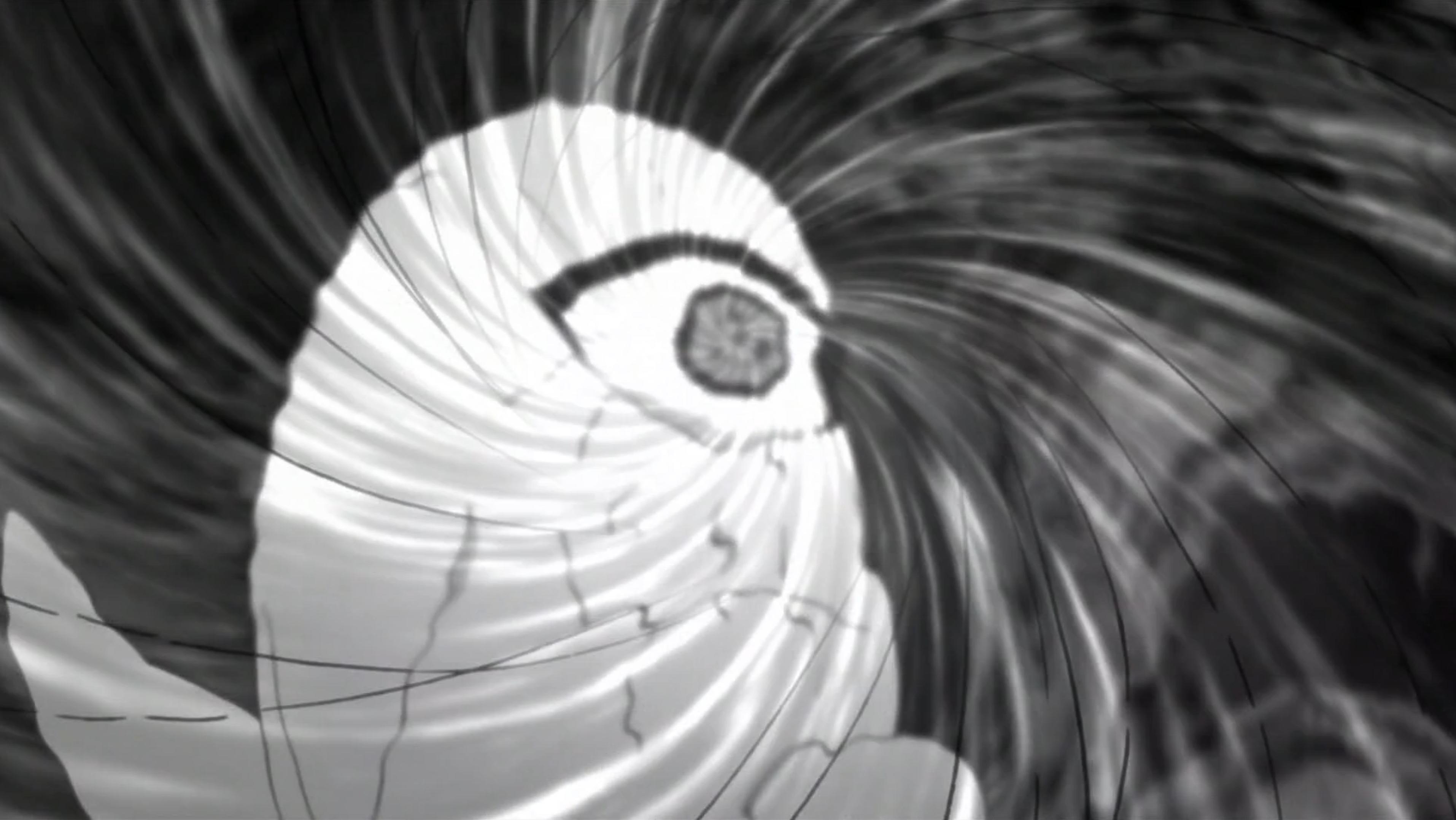 Dôjutsu d'Espace-Temps de Shin Uchiwa