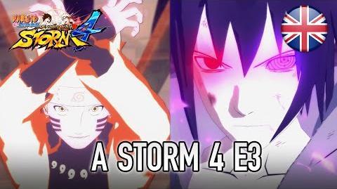 Naruto SUN Storm 4 - PS4 XB1 PC - A Storm 4 E3 (English Trailer)