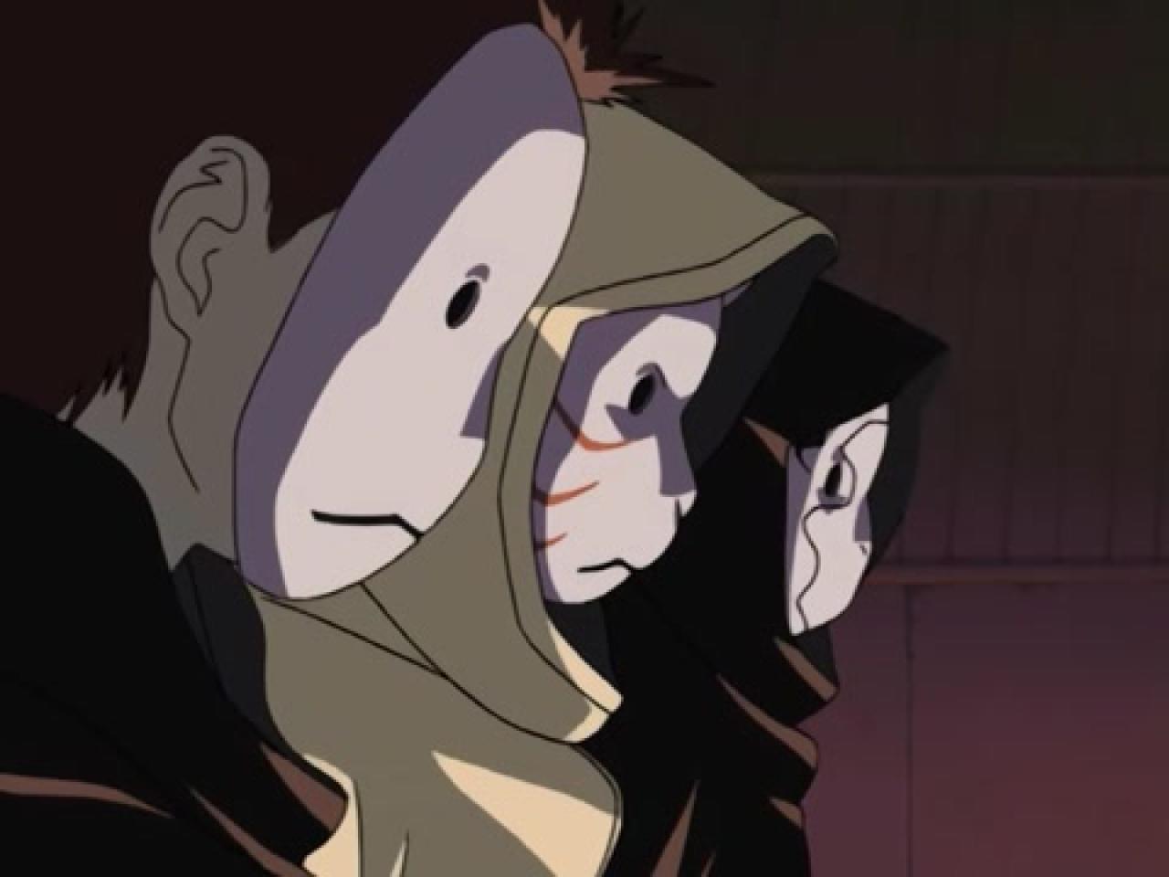 Naruto - Episódio 198: A Anbu Desiste? A Recordação de Naruto