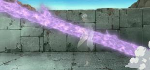 …ele usa o Izanagi para anular o dano.