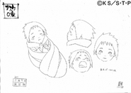 Arte Pierrot - Sasuke Bebê