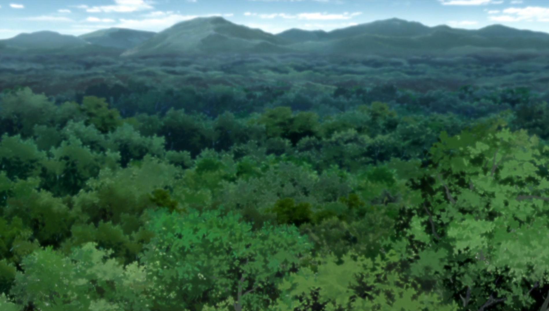 La Forêt maudite
