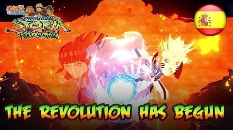 Naruto SUN Storm Revolution - PS3 X360 PC - Revolution has begun (Spanish Launch Trailer)