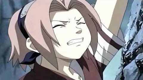 Sakura Saves Sasuke Moment