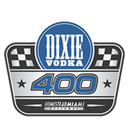 Dixie Vodka 400 Logo