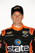 Ward Burton in 2012