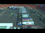 HAULER PARKING ON DIRT at Bristol Motor Speedway