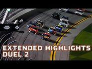 Austin Dillon beats out Bubba Wallace in wreck filled Duel 2 at Daytona - Daytona Duels
