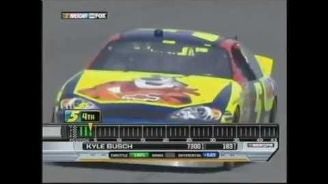 Darrell Waltrip's BS statement about Kyle Busch in 2007