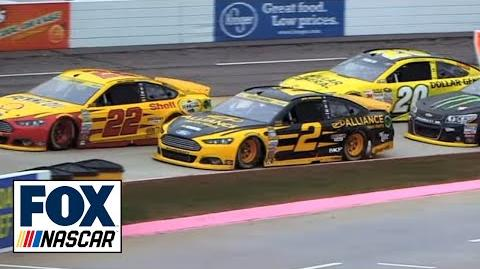 """Radioactive Martinsville - """"That's a chicken expletive move right there!"""" - NASCAR Race Hub"""