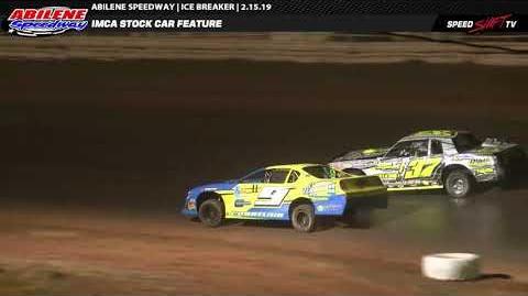 IMCA Stock Car Feature Abilene Speedway 2.15