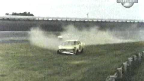 Cale Yarborough Flies Over The Wall 1965