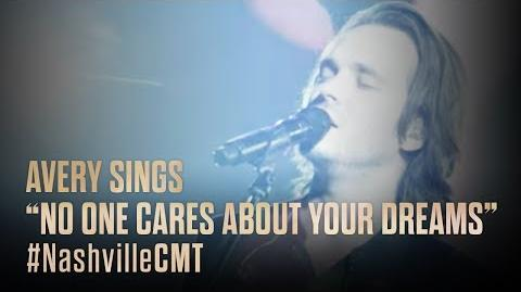 """NASHVILLE on CMT Avery Sings """"No One Cares About Your Dreams"""""""