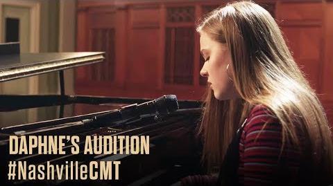 NASHVILLE on CMT Daphne Auditions Behind Deacon's Back