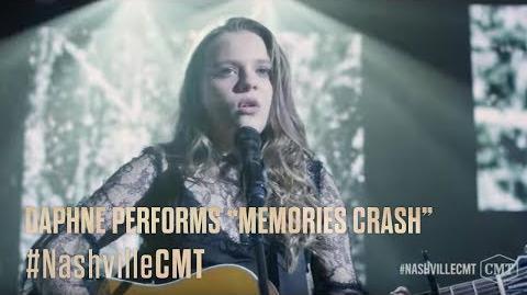 """NASHVILLE on CMT Daphne Performs """"Memories Crash"""""""