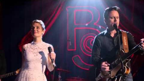 "Clare Bowen (Scarlett) and Charles Esten (Deacon) Sing ""Hand to Hold"" - Nashville"