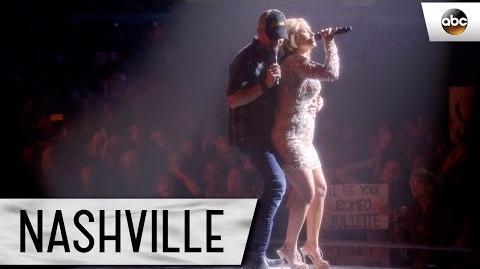 """Hayden Panettiere (Juliette) and Will Chase (Luke) Sing """"Boomtown"""" - Nashville"""
