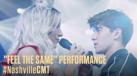 """NASHVILLE ON CMT Maddie and Jonah's """"Feel The Same"""" Performance"""