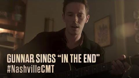"""NASHVILLE on CMT Gunnar Sings """"In The End"""""""