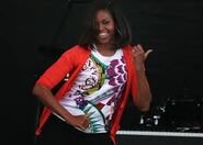 Michelle Dancing