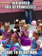 Batman princesses