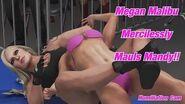 Megan Malibu Painfully Disrupts Mandy Rose's Bikini Expose'-1