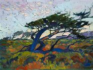 Tree in the Wind, 1950