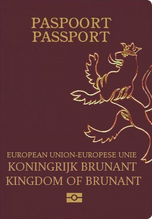 Passport cover new bru