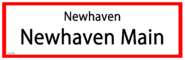 Newhaven Main RS Sign