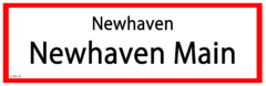 Newhaven Main RS Sign.png
