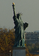 Paris Liberty Statue