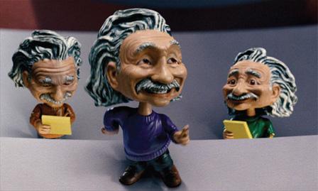Albert Einstein bobbleheads