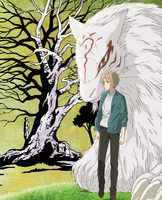 Natsume's Book of Friends The Movie Tied to the Temporal World Blu-ray Cover