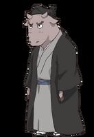 Ox-Like Youkai Anime