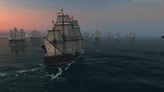 Ingermanland Sailing Rear Battle