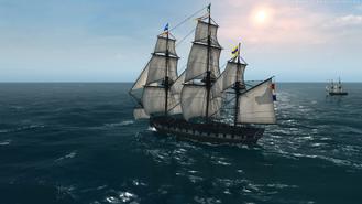 Pirate Frigate Side