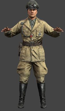 Afrika Korps Tiger Tank Commander