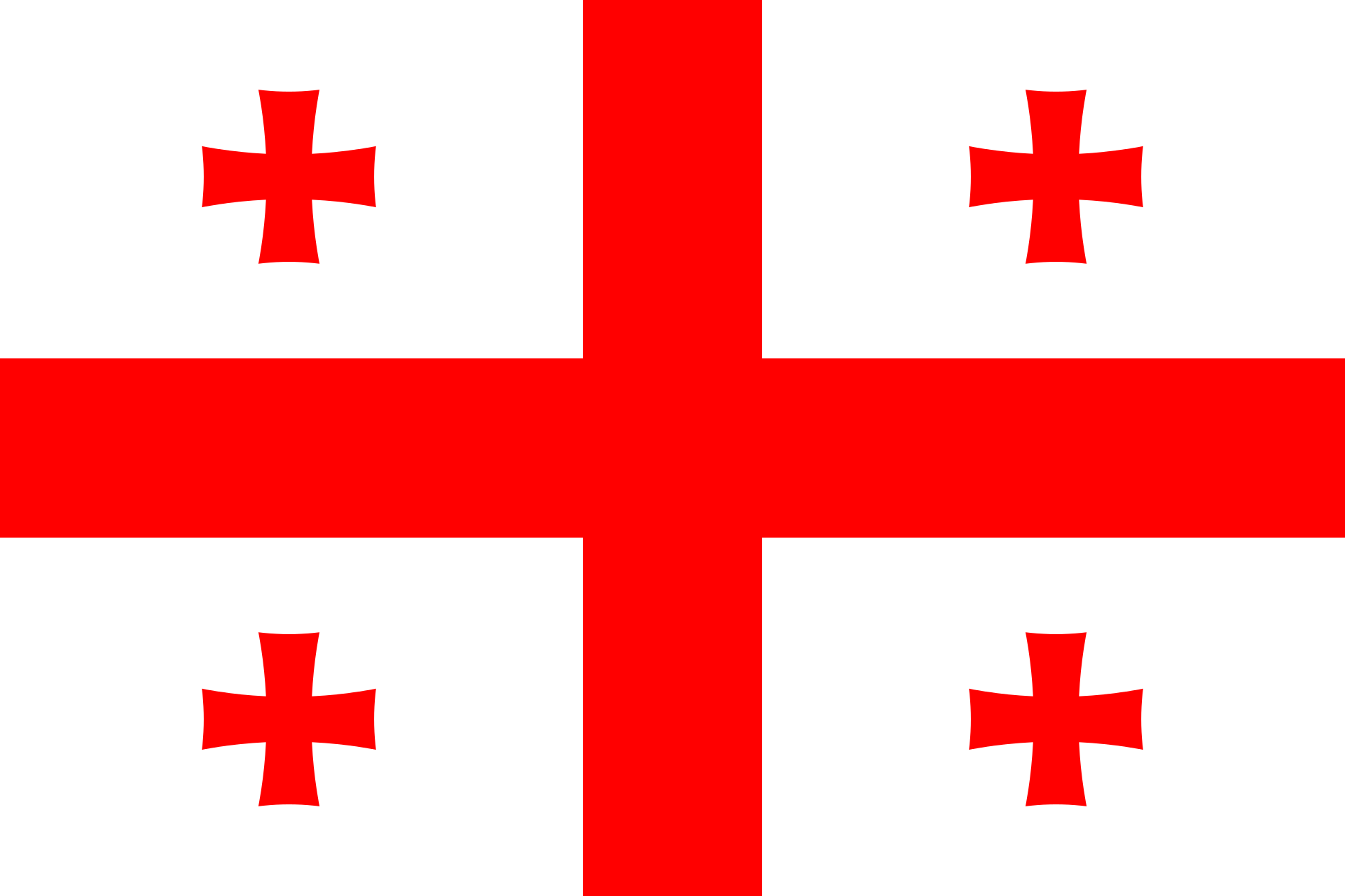Georgia (country) Flag.png