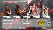 Atlanta Hawks NBA 2K18